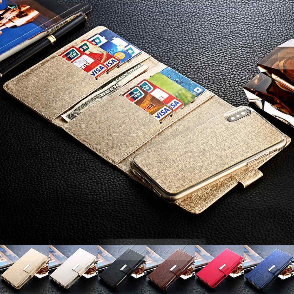 Removable Leather Magnetic Wallet Card Case Cover For Apple Iphone 8 Plus /X 10