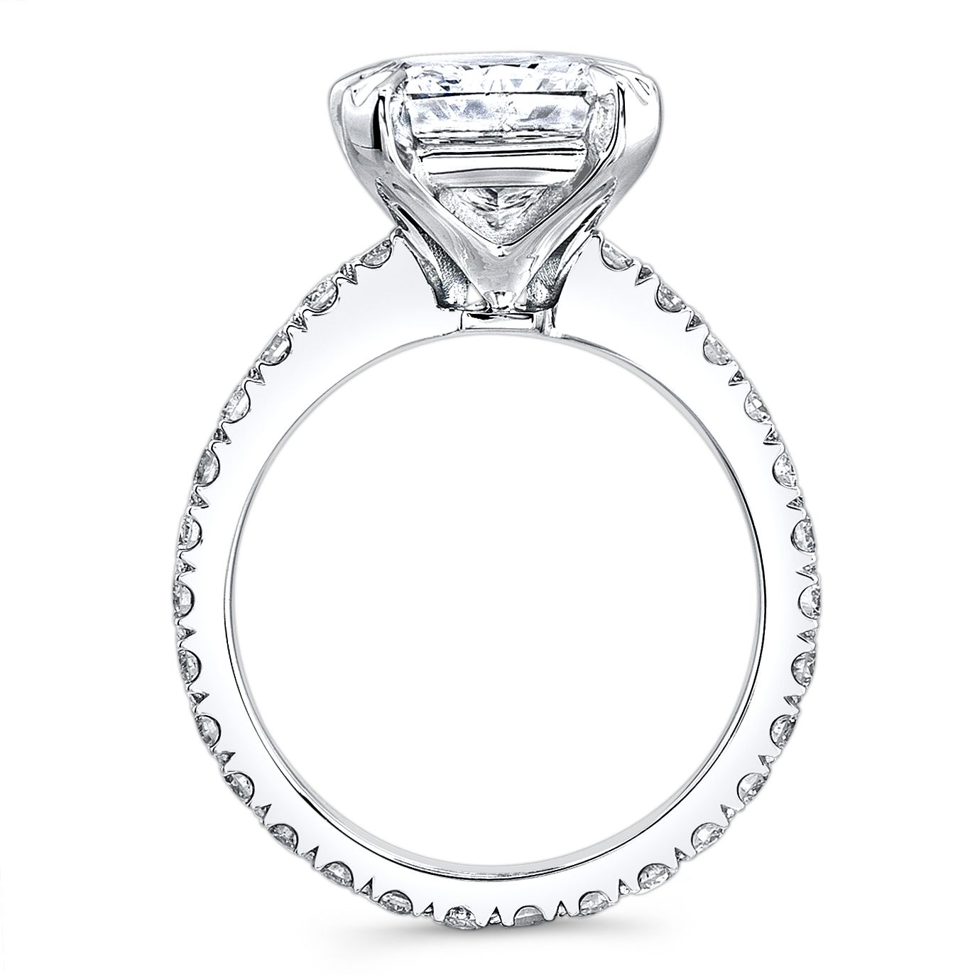 ct radiant cut diamond solitaire eternity engagement ring hif