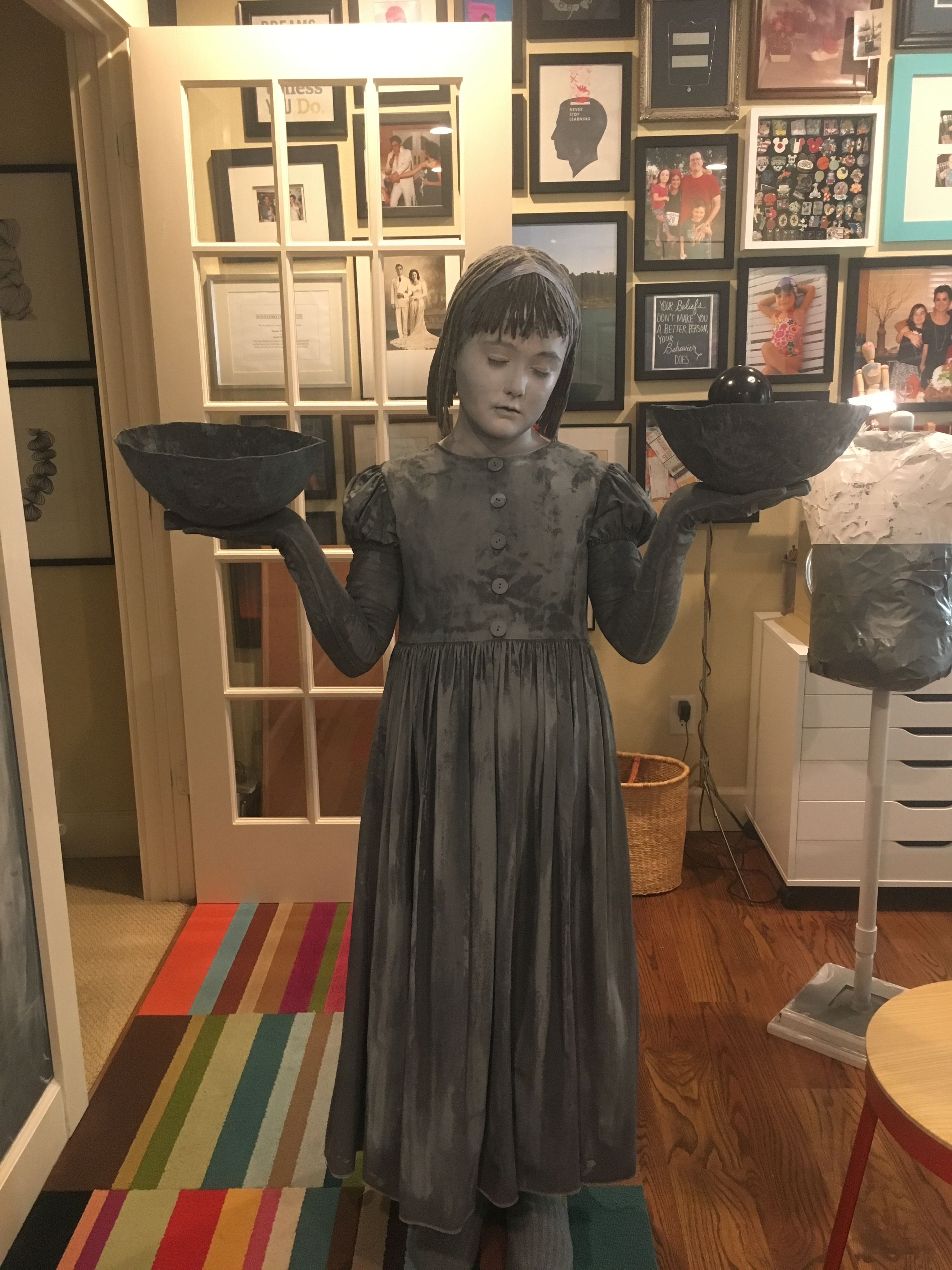 Bird Girl Statue Costume - Midnight in the Garden of Good and Evil ...