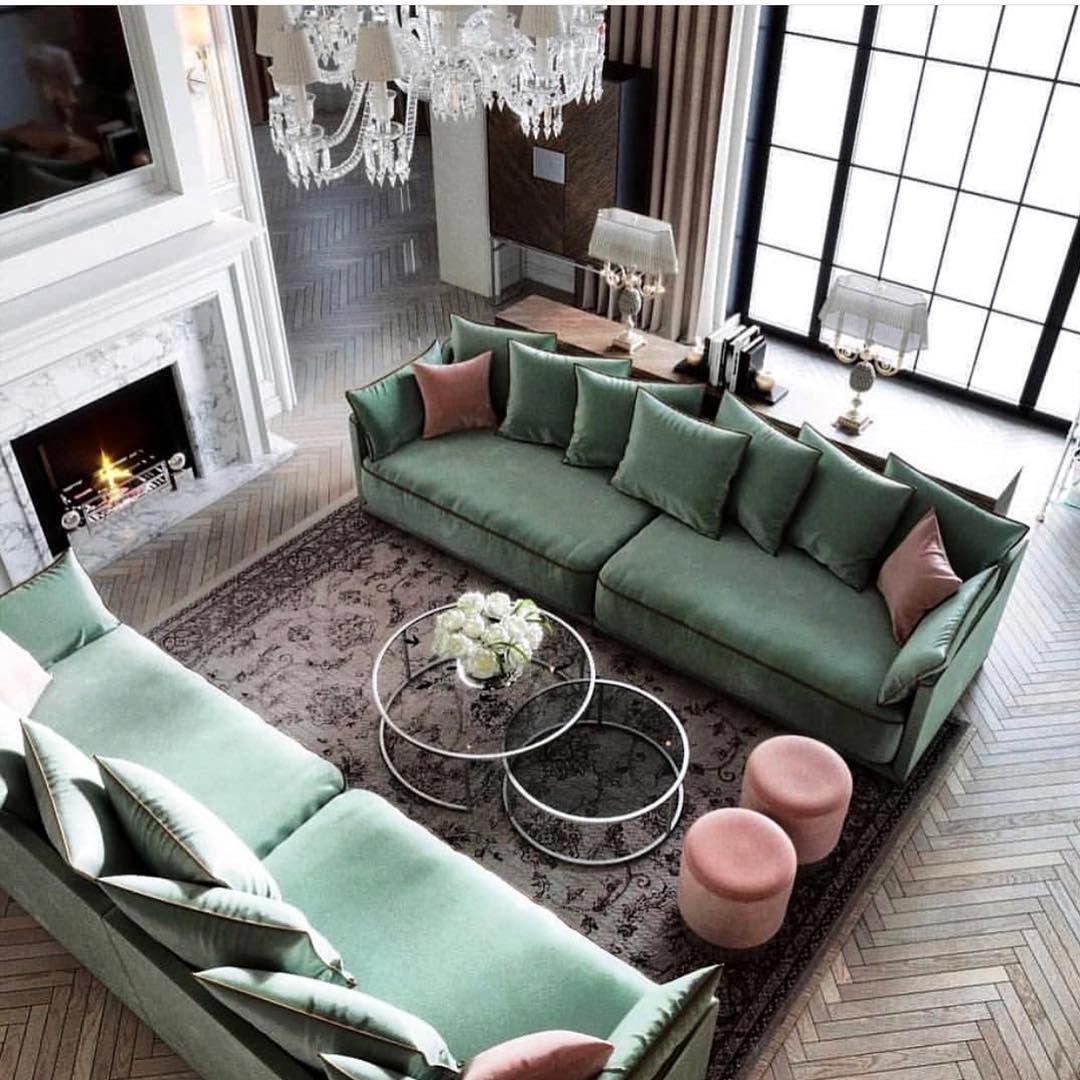 """42 Gorgeous Living Room Color Ideas For Every Taste Best: Ashley Stark Kenner On Instagram: """"Always Feeling The"""