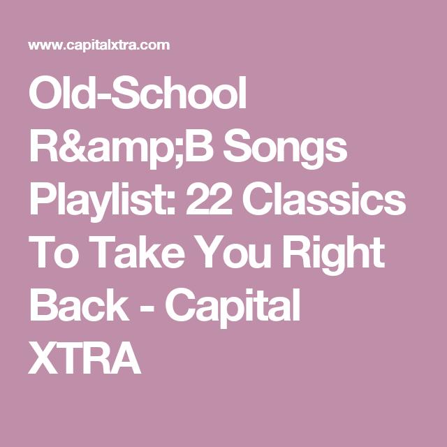 r&b old school song list