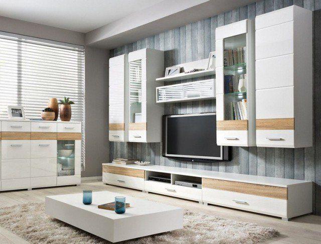 Écran plat mural u2013 une option élégante pour le salon moderne Shaggy