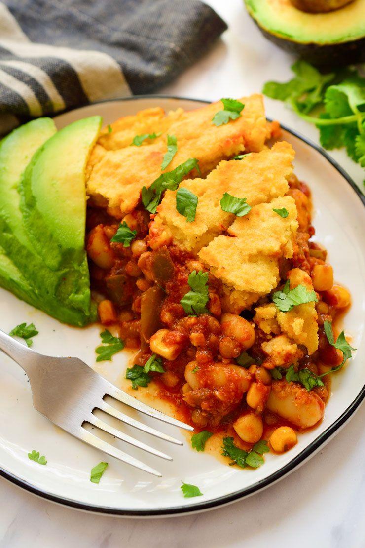 Vegan Tamale Pie Recipe Vegan Tamales Tamale Pie Mexican Food Recipes