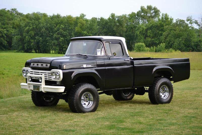 1959 Ford 4x4 Classic Ford Trucks Ford Trucks