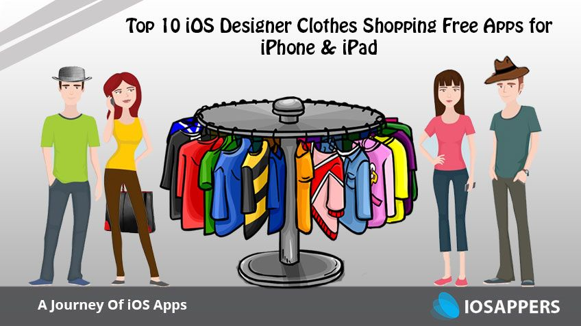 Best 10 ios designer clothes shopping apps for iphone