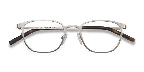Plateau | Silver Metal Eyeglasses | EyeBuyDirect
