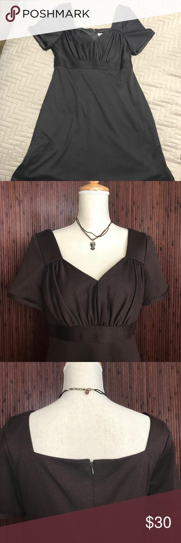 Dark brown short sleeve dress brown shorts short sleeve dresses
