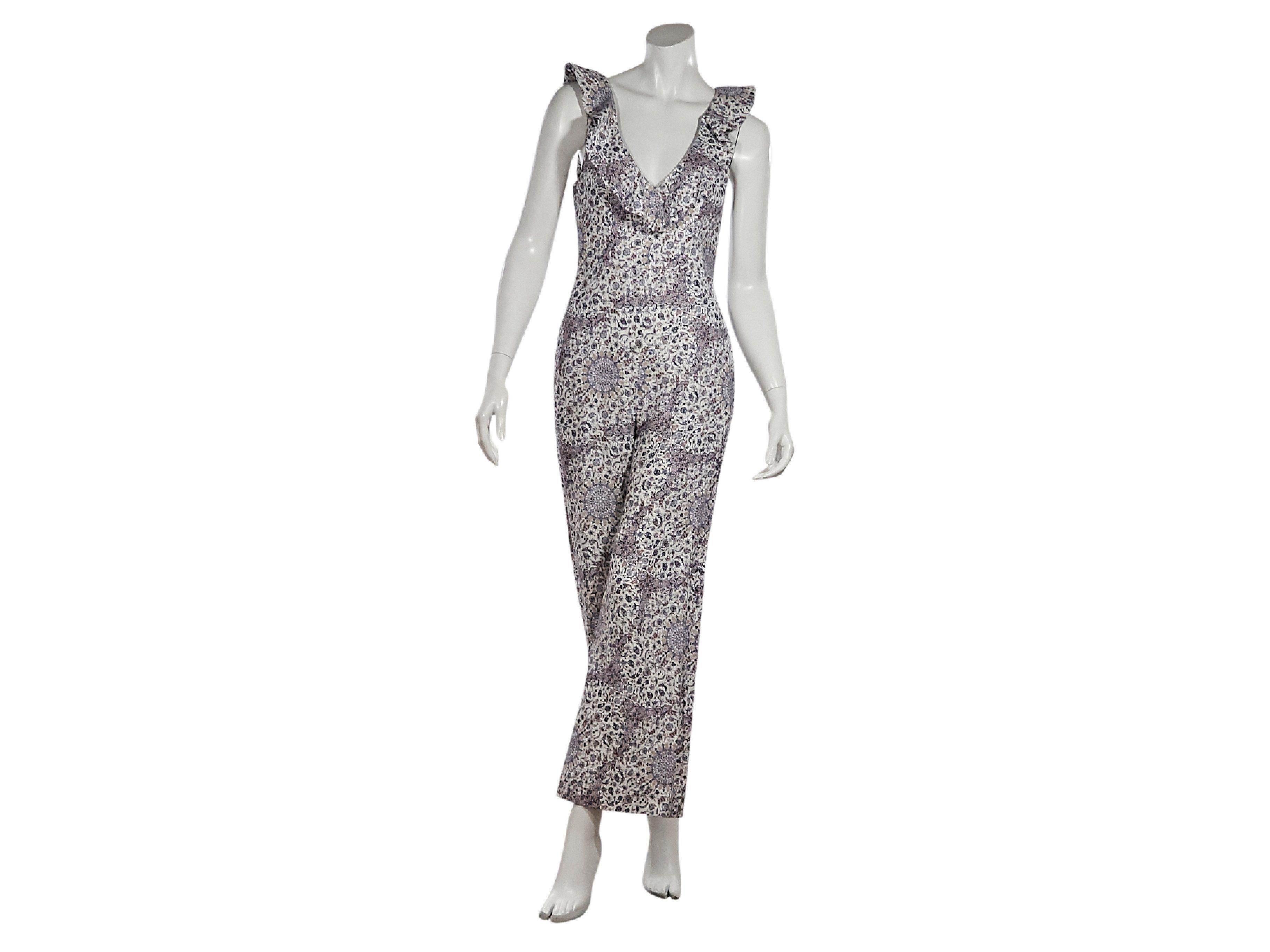 0a20ff6b290 Multicolor Zimmerman Printed Linen Jumpsuit