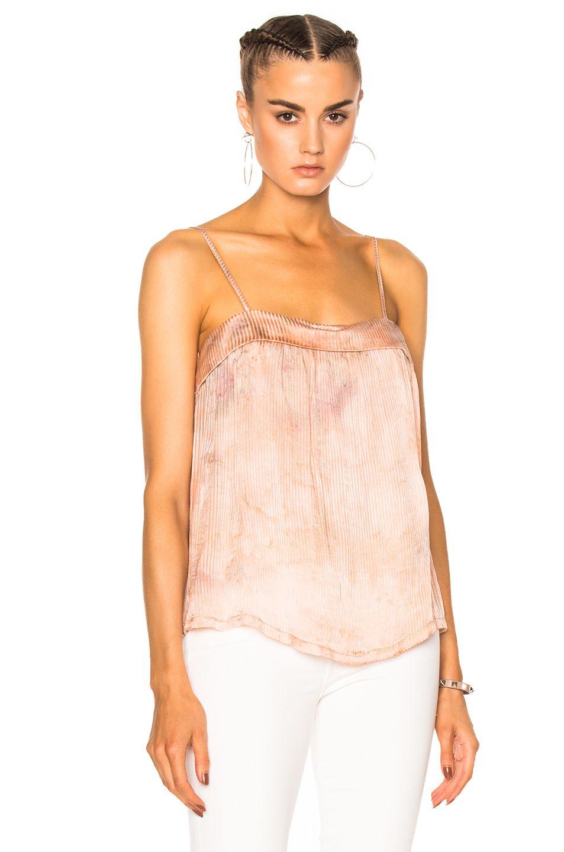 84cd3a150cc Image 1 of Raquel Allegra Flirty Top in Coral Tie Dye   Tops   Tops ...