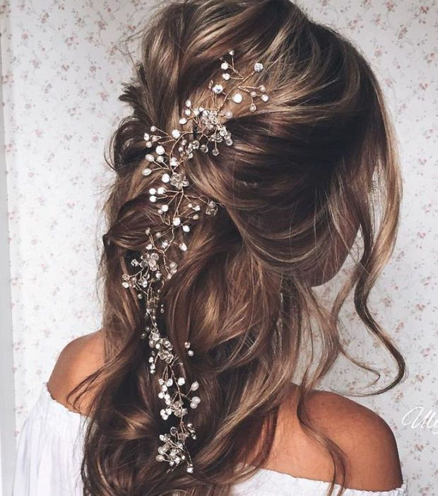 coiffure mariage une tresse cascade coiffure pinterest tresse cascade coiffure mariage. Black Bedroom Furniture Sets. Home Design Ideas