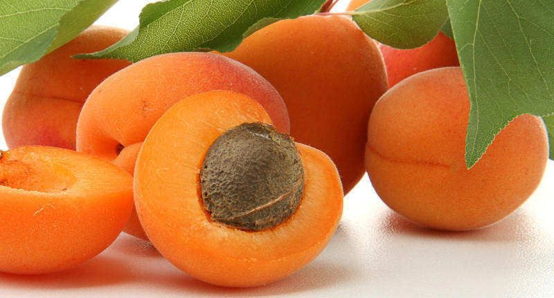 New entry in our Glossary : Apricot   Read about this at  : http://culinaryglossary.info/a/apricot/ Apricots range in colour from yellow to deep orange, often with red or rosy touches. When selecting fresh apricots, look for fruits with no touch of green whatsoever. The fruits vary in size from about 3 – 6cm in diameter. The flesh should yield to gentle pressure when held in the palm of your hand, and the fruit should have a bright, ripe aroma.    We hope this infor