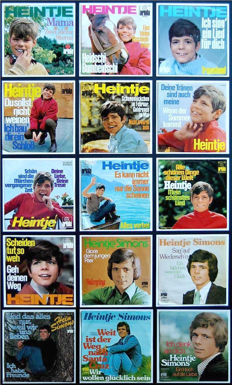 Heintje Singles Sammlung Music Appreciation Memories Types Of Music