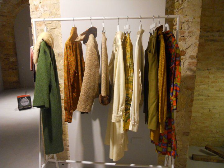 White metal for vintage clothes in warm colors