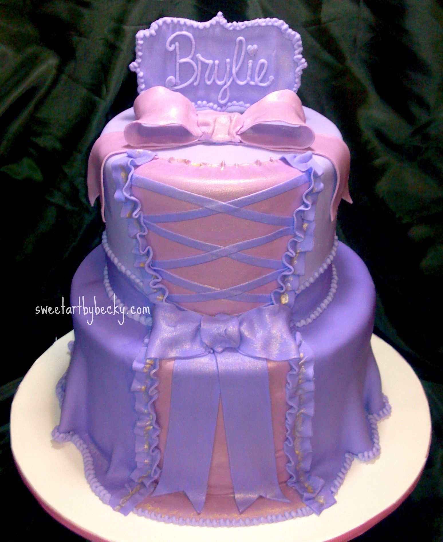 Image Detail for - Slightly different version of the Rapunzel cake we've done before