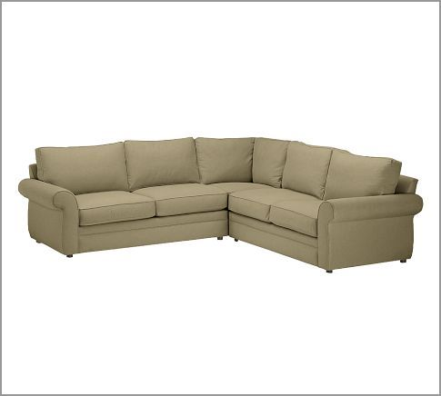 Pearce 2 Piece L Shape Sectional Everydaysuede