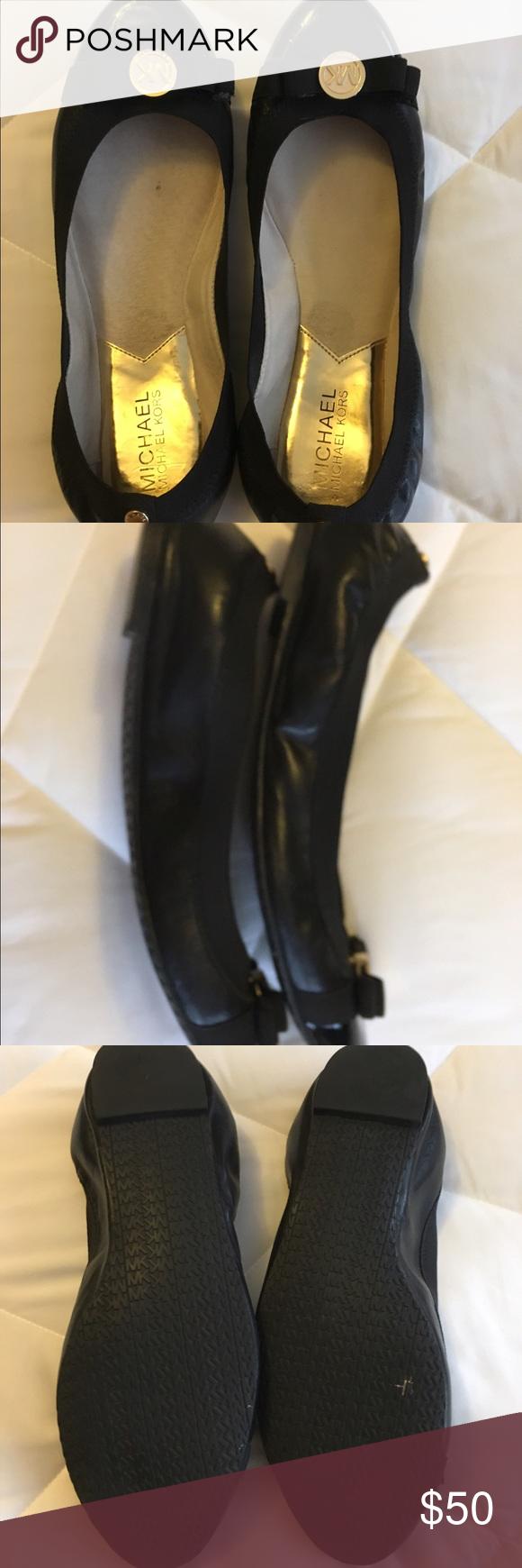 Michael Kors Black Patent Flats Size 7.5 Very nice! MICHAEL Michael Kors Shoes Flats & Loafers