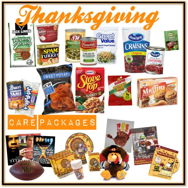 6 Ideas for a Thanksgiving Care Package I Care Packages, Soldier Care Packages, Thanksgiving