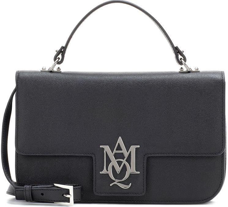 Alexander McQueen Insignia Shoulder Bag