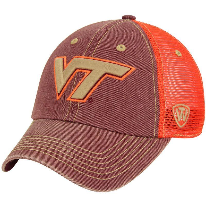 Virginia Tech Hokies Top of the World Past Trucker