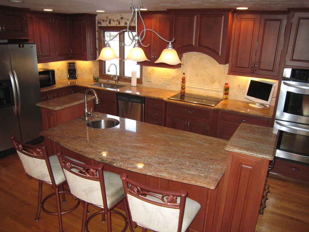 Rosewood Kitchen Rosewood Kitchen Granite Countertops Kitchen Remodel
