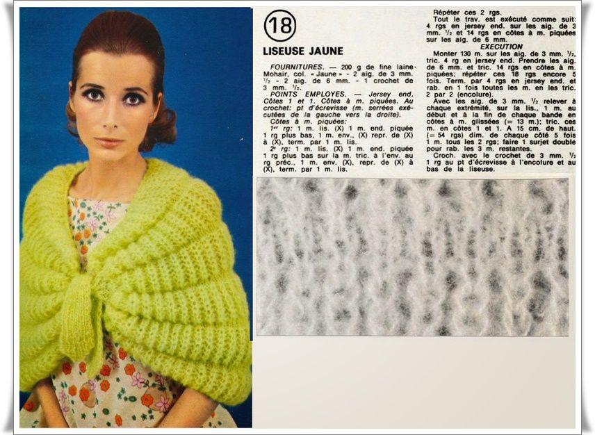 liseuse votre tricot 1969 tricot pinterest tricot et crochet. Black Bedroom Furniture Sets. Home Design Ideas