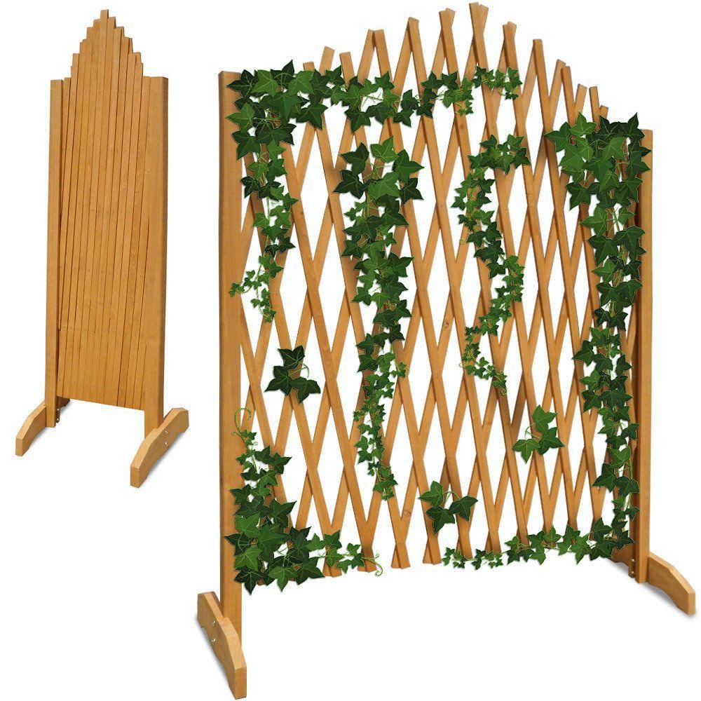 Details about wooden garden fence panels fencing trellis outdoor wooden garden trellis fencing fence panels outdoor patio furniture plants flower baanklon Gallery