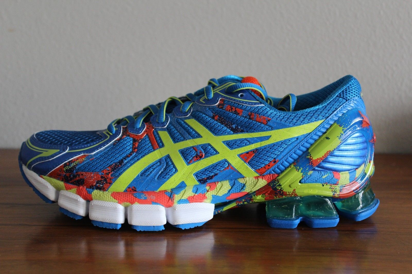 14 nouveaux hommes Asics GEL de SENDAI hommes 12 2 chaussures de course 8 12 BLUE LIME CHERRY 2ddda29 - coconutrecipe.info