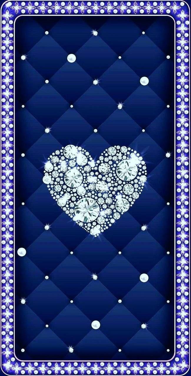 Heart bling wallpaper by KellieKat69 - e65e - Free on ZEDGE™