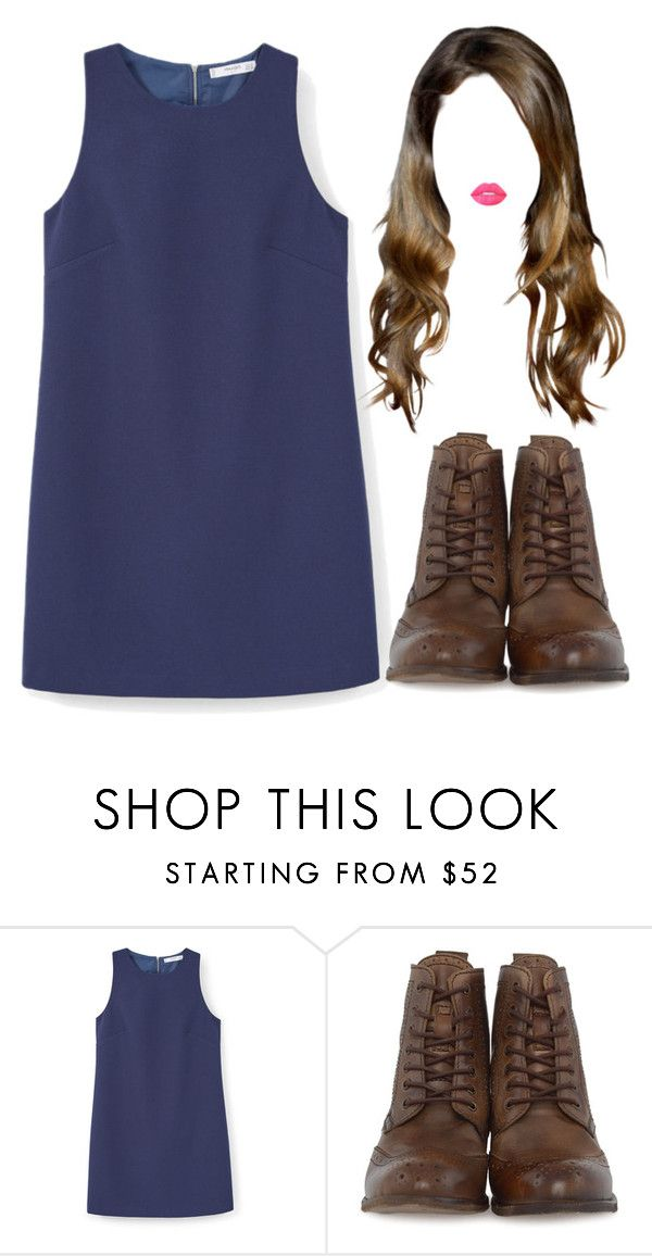 """""""Sin título #326"""" by feelsxharry on Polyvore featuring MANGO, H by Hudson y Lime Crime"""