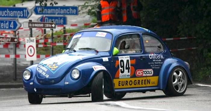 German-Look   Rally car, Volkswagen, Checkered flag
