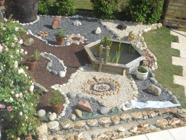 Mon Petit Jardin Zen 2 Jardines Dise Os Pinterest