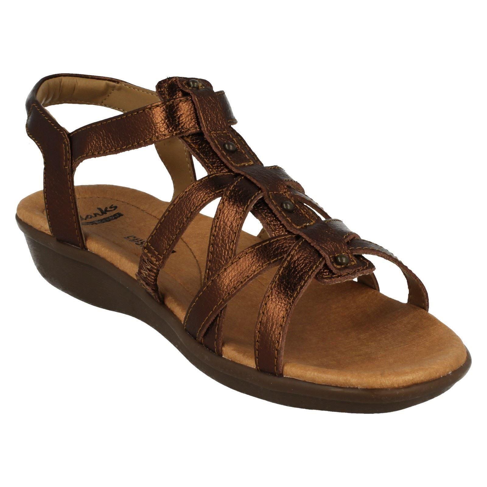 3c6e47035cc4 Ladies Clarks Open Toe Casual Sandals Style - Manilla Bonita