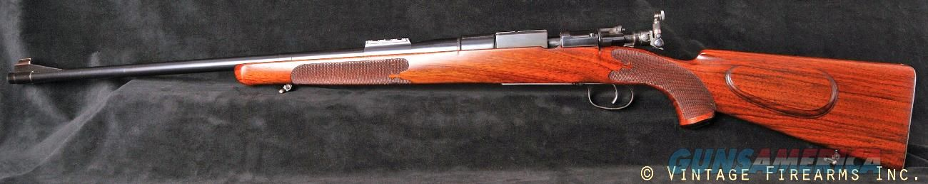 Griffin & Howe Custom Mauser 7x57 Rifle - 1920's, ENGRAVED