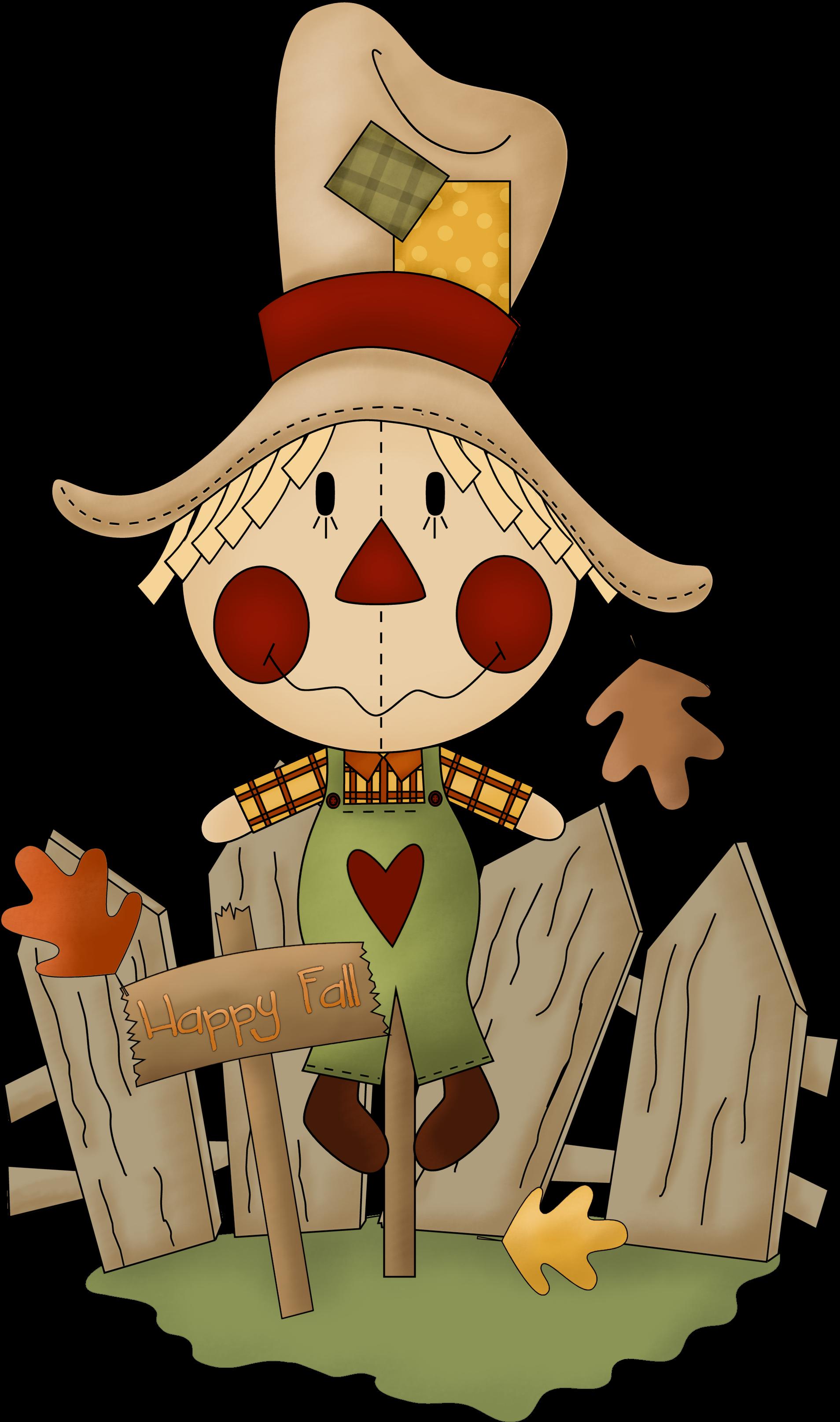 scarecrow fall