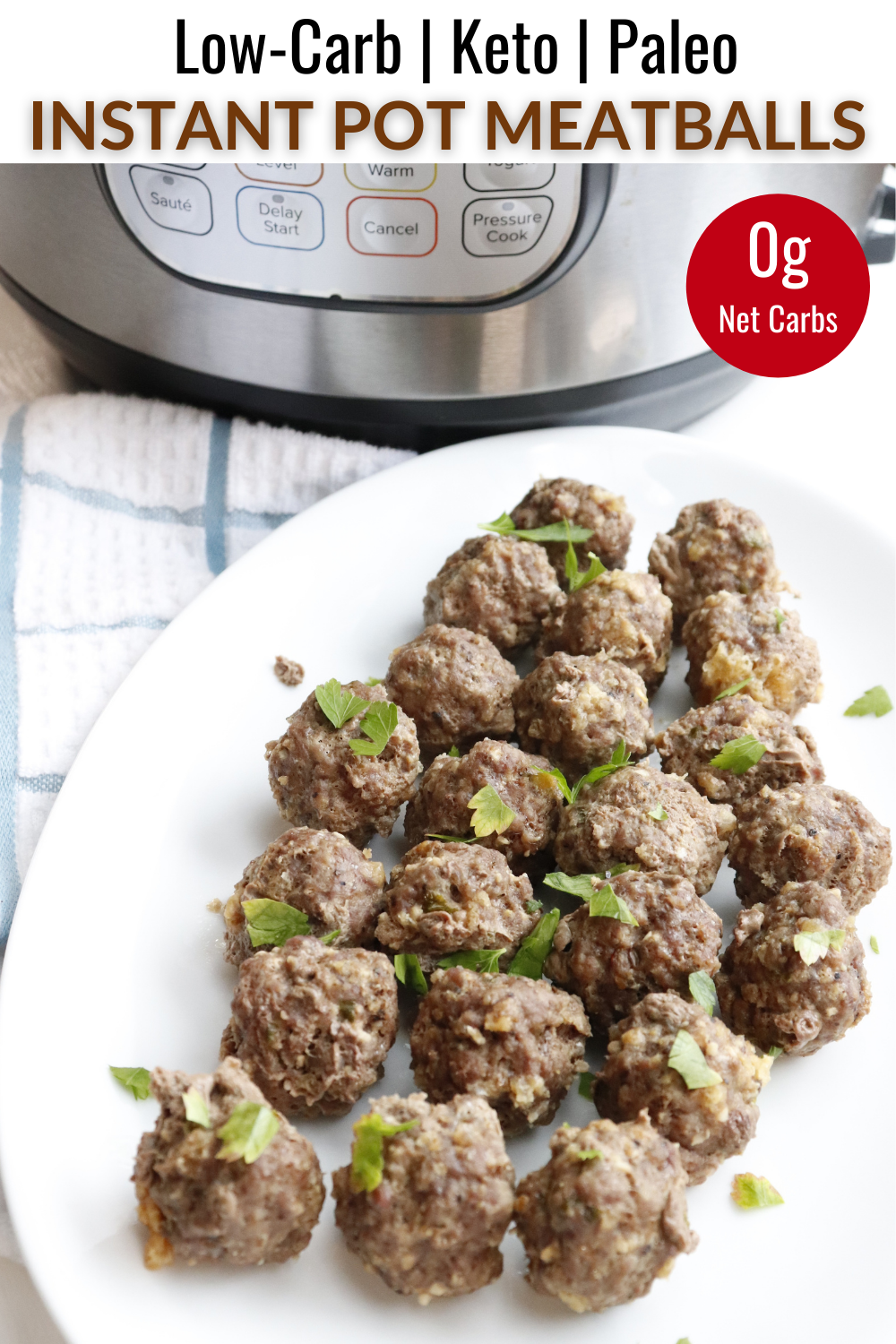 Instant Pot Meatballs In 2020 Ground Beef Paleo Recipes Low Carb Instant Pot Recipes Beef Recipes