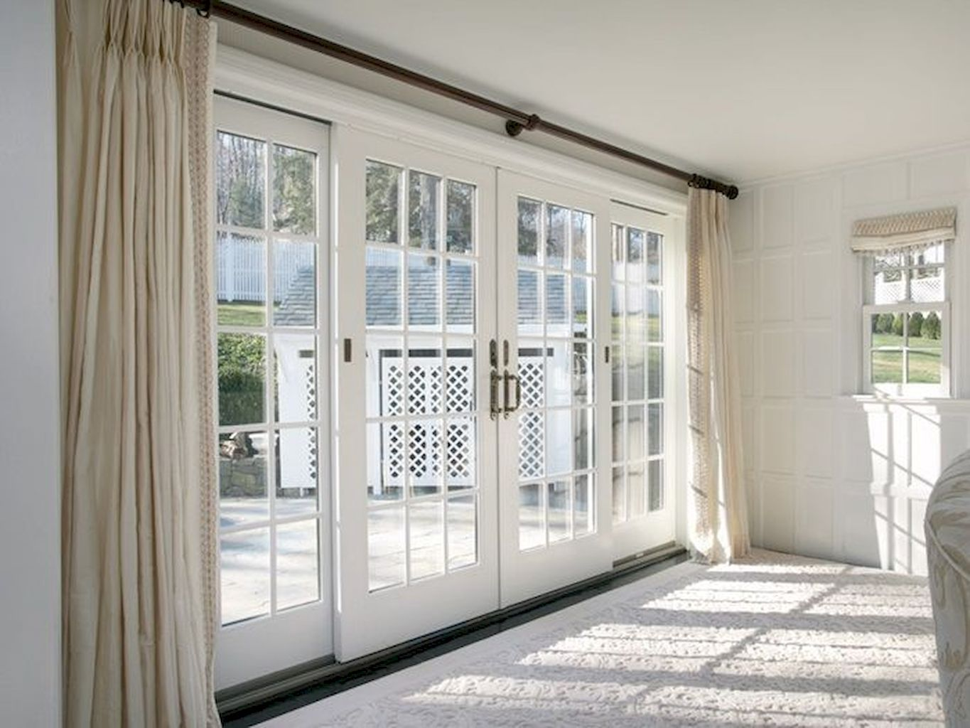 50++ Awesome Decorative Glass Doors Ideas Sliding french