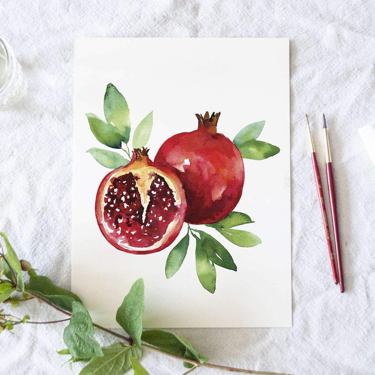 Photo of Pomegranate Watercolor Kit