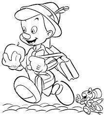 Pinocchio E Il Grillo Disegni Da Colorare Gratis Disegni Da
