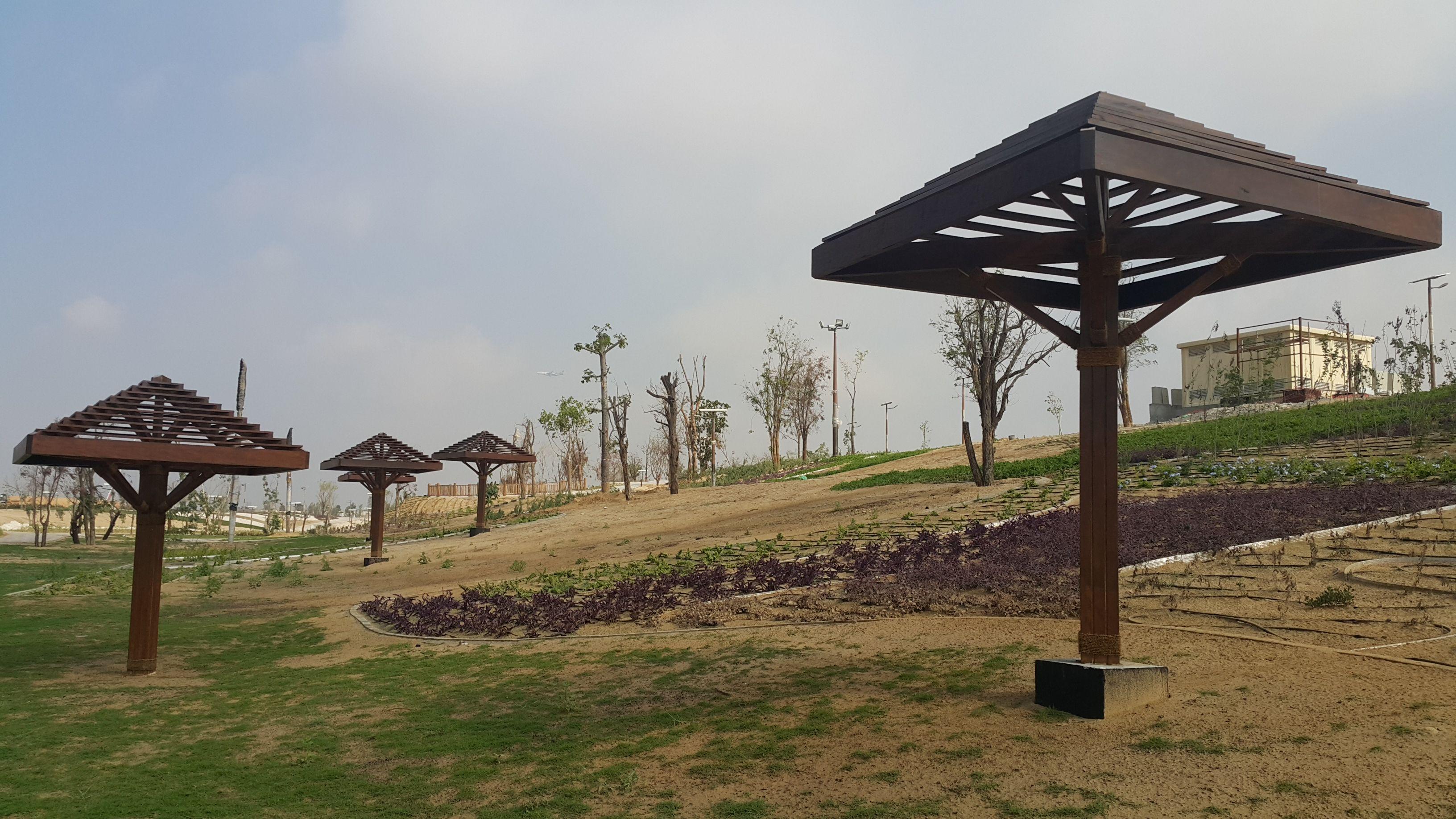 African Style Pergolas. Dubai | Interior design and build ...