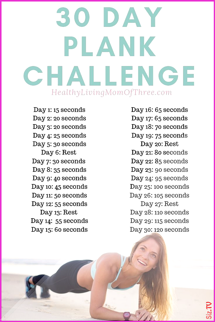 30 Day Plank Challenge For Beginners 30 Day Plank Challenge For Beginners nourish move love  health...