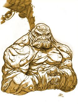 clayface cartoon how to draw