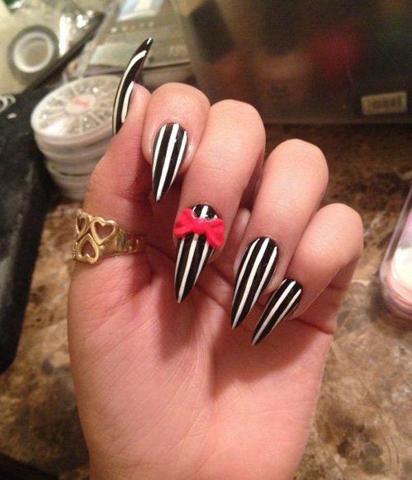 50 Cute Bow Nail Designs Bow Nail Designs Bow Nail Art And Nail Nail