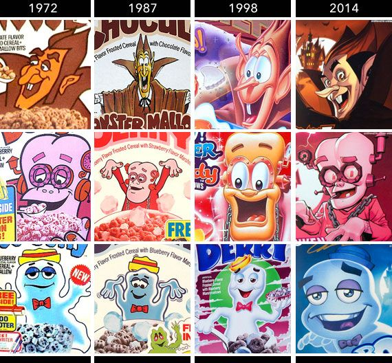 Monster Cereals Get Comic Book Makeover