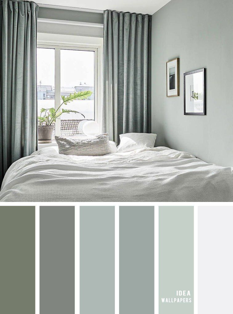 Photo of 25 Best Color Schemes for Your Bedroom { Sage color for bedroom }, color palette…