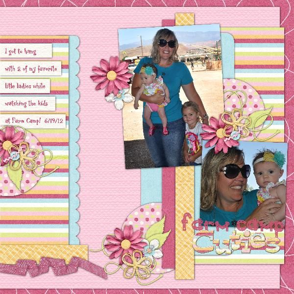 Kit: Summer Treats by B2N2 Scraps  Template: Template Pack 13 by AKDesigns