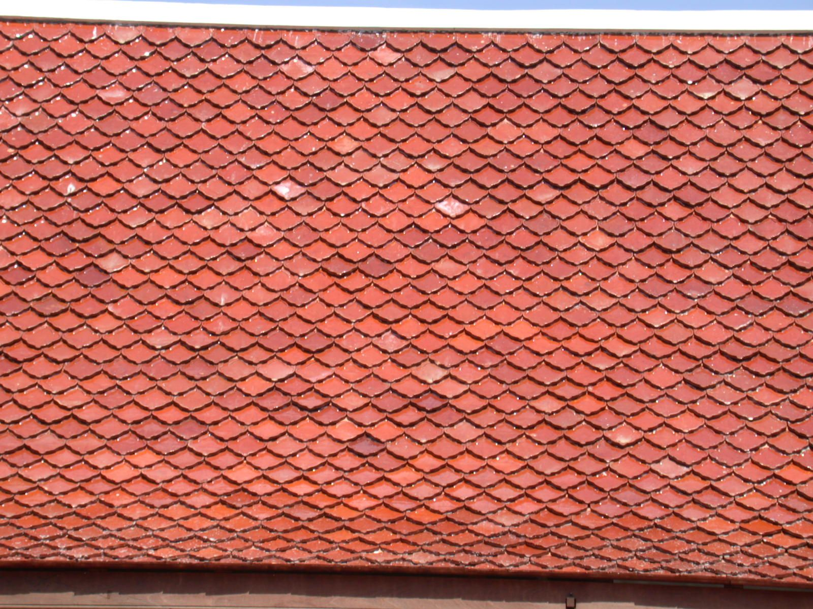 Having Storm Red Tile Roof At Home Really Is One Of The