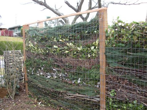 how to make a compost heap in the ground