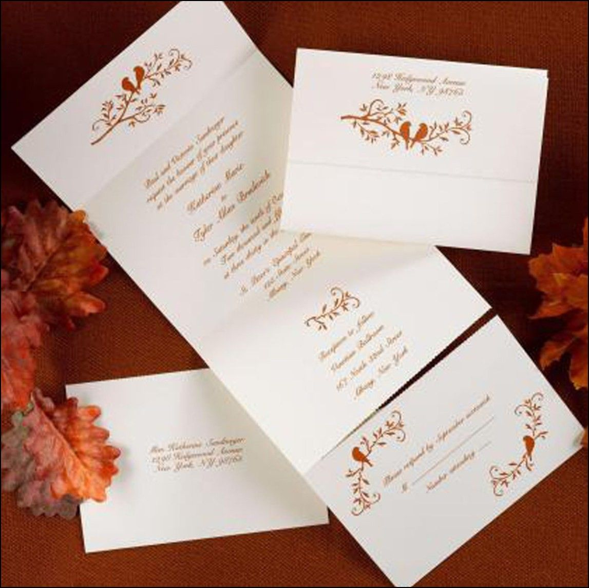 Wedding Invitations Tissue Paper Insert