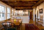 Charming Kitchen with Original  Beams and Fireplace