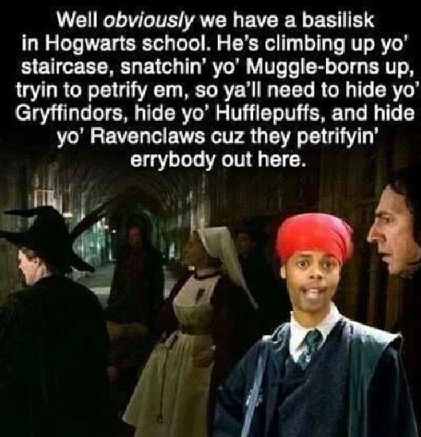 Hahahaa #HarryPotterHead